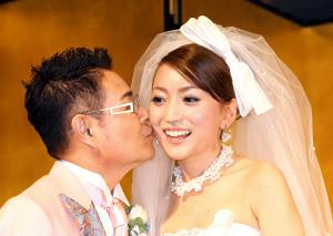 加藤茶と綾菜(2012年3月1日撮影)