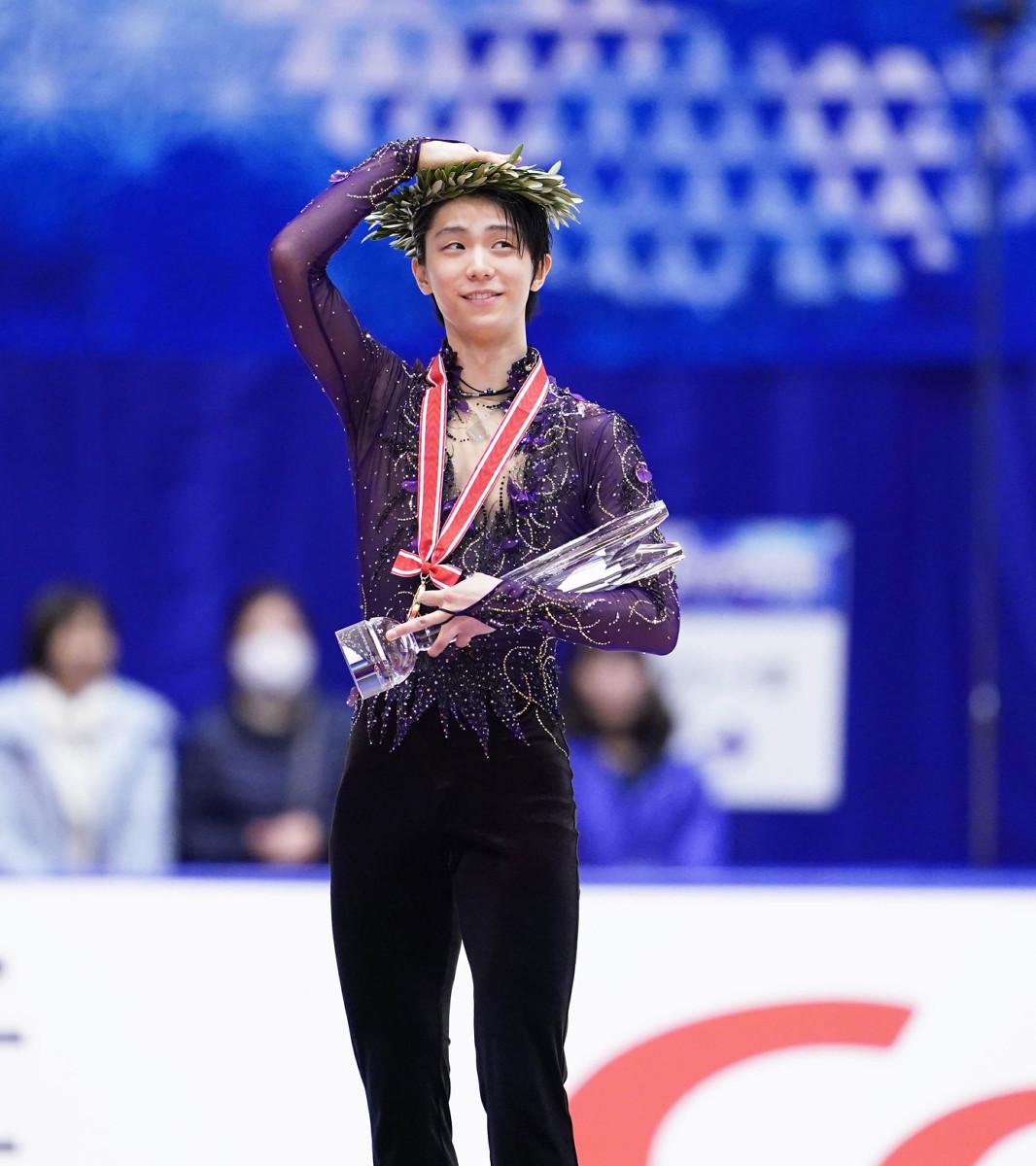 張本勲氏、NHK杯優勝の羽生結弦に「あっぱれはやらないよ。チェンが出てないから」