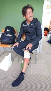丹沢湖ハーフマラソン5キロ50代の部で転倒しながら3位になった東海大の両角速監督