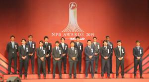 第1部の表彰式に出席した各選手、関係者(カメラ・竜田 卓)