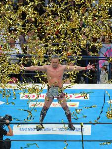 1・4東京D大会で飯伏幸太の挑戦を受けるオカダ・カズチカ。テレ朝の地上波当日放送最大の目玉となるスーパースターだ