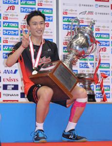 日本バドミントン界を引っ張る世界ランク1位の桃田賢斗