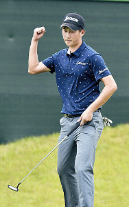 6月のダンロップ・スリクソン福島オープンで優勝した星野陸也