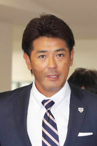 侍ジャパンの監督を務める稲葉氏