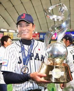 プレミア12を初制覇した稲葉監督