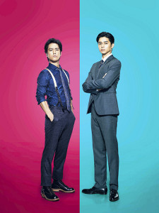 ダブル主演を務める、ともに高身長の桐谷健太(左)と東出昌大