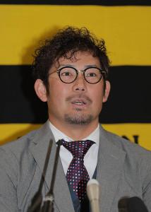 現状維持で契約更改を終えた岩田稔(カメラ・石田順平)