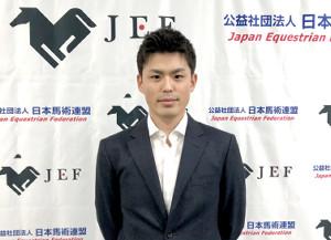 20年東京五輪に馬場馬術での出場を目指す黒田龍之介