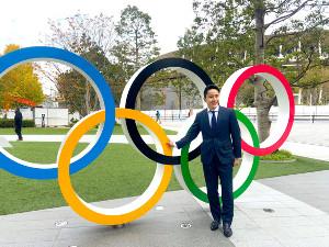 IOC選手委員選挙に立候補した太田雄貴氏