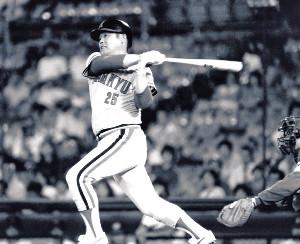 通算代打本塁打の世界記録を残して「世界の代打男」と呼ばれた高井保弘氏