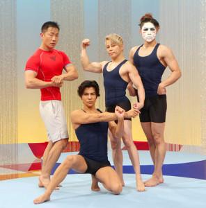 (左から)谷本道哉氏、武田真治、西川貴教、樽美酒研二