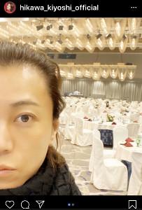 インスタグラムより@hikawa_kiyoshi_official