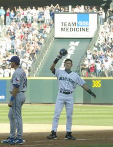 2004年に262安打を放ったイチロー