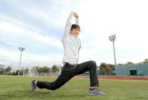 東京国際大のエースとして箱根駅伝での快走に期待が懸かる伊藤(カメラ・相川 和寛)
