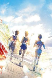 高橋しんさんが箱根駅伝をテーマに描いたイラスト
