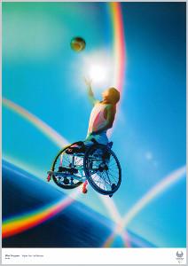 蜷川実花さんの描いた東京パラリンピックポスター(C)Tokyo 2020
