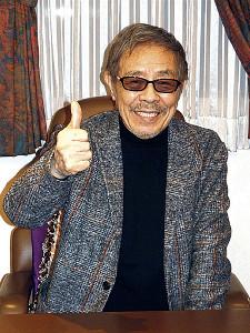 元気いっぱいの北島三郎
