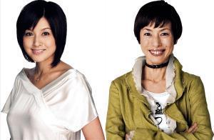 今秋上演の舞台でおばあちゃん役に挑戦する藤原紀香(左)と久本雅美