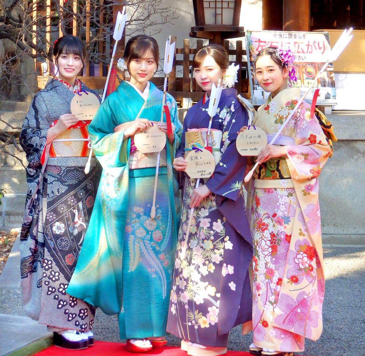 乃木坂46メンバーが成人式「おめでたい世代です」\u2026卒業発表の