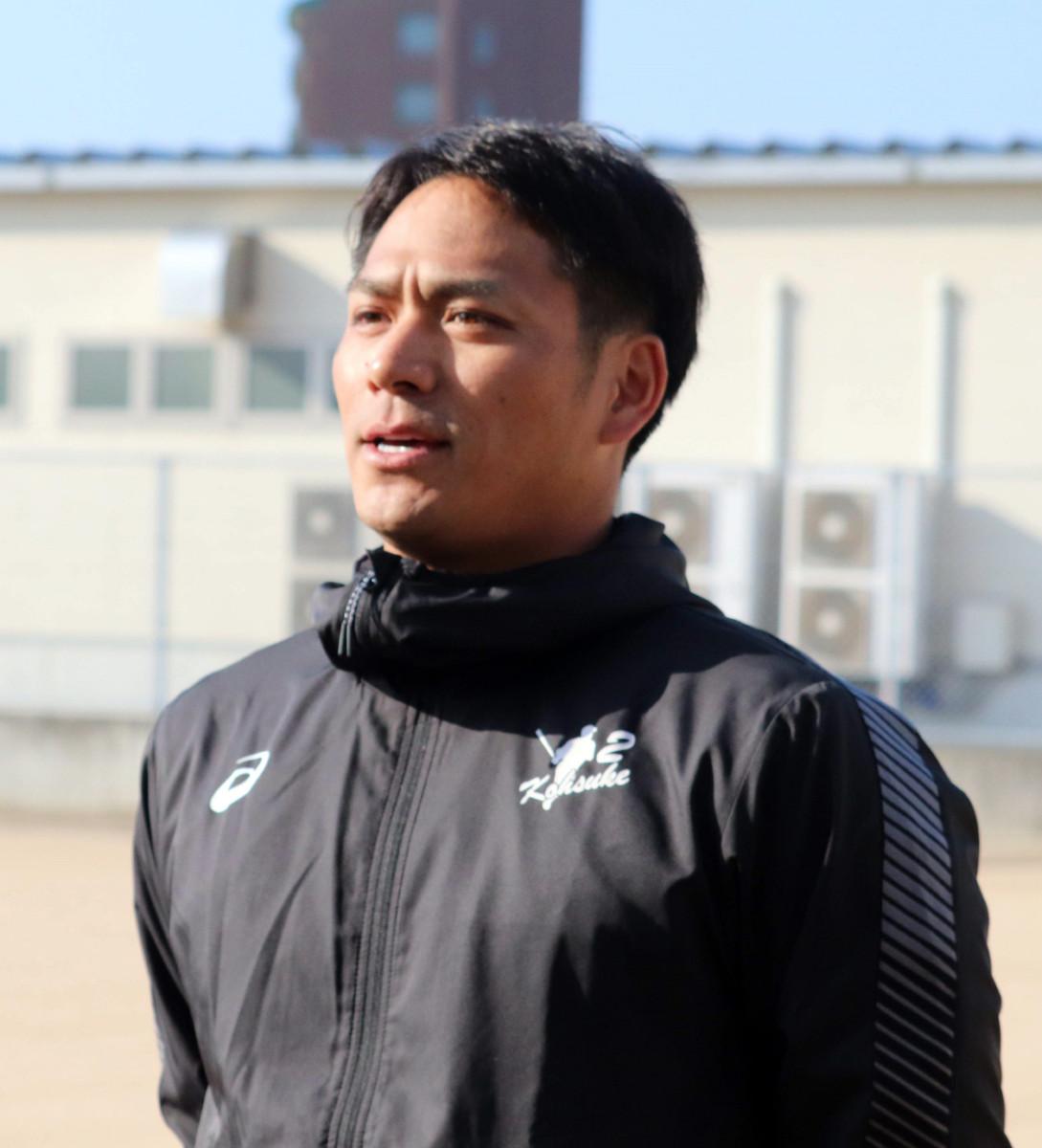 新選手会長の広島・田中広輔