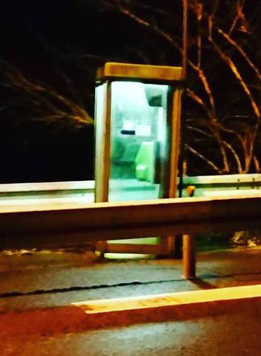 四国の山中で心霊現象に遭遇したジョージマン北 電話ボックスの中には…