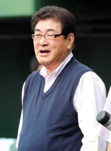 昨年は体調不良で療養していた山本浩二氏