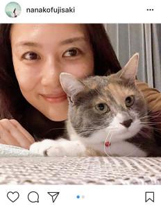 インスタグラムより@nanakofujisaki