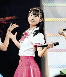 新曲でセンターを務めるAKB48の山内瑞葵