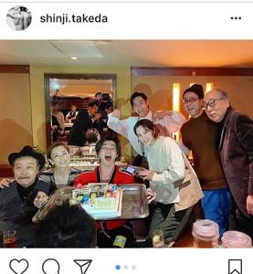 インスタグラムより@shinji.takeda