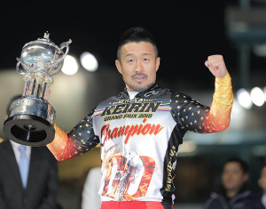 KEIRINグランプリ2019を制した佐藤慎太郎