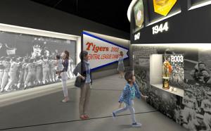 リニューアルオープンする甲子園歴史館のイメージ図(甲子園歴史館提供)
