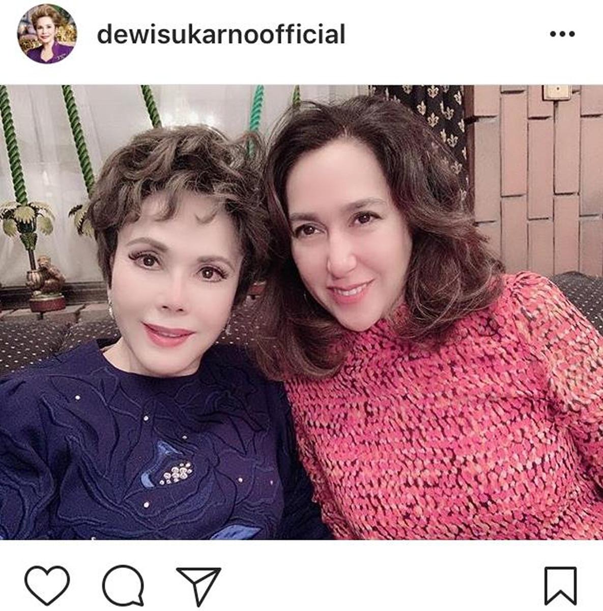 デヴィ夫人 孫 インスタ