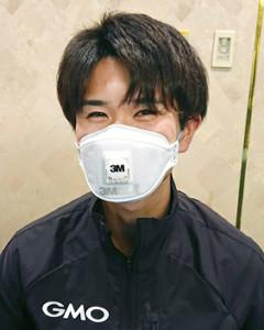 別府大分毎日で初マラソンに挑む林奎介。GMOから支給された高性能マスクで新型コロナウイルス対策は万全