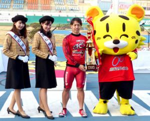 無傷の4連勝で5度目のG3制覇を飾った松浦悠士