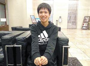 別大マラソンで日本学生歴代2位の好記録をマークした青学大・吉田祐也は激走から一夜明け、選手村のホテルで充実した表情を見せた