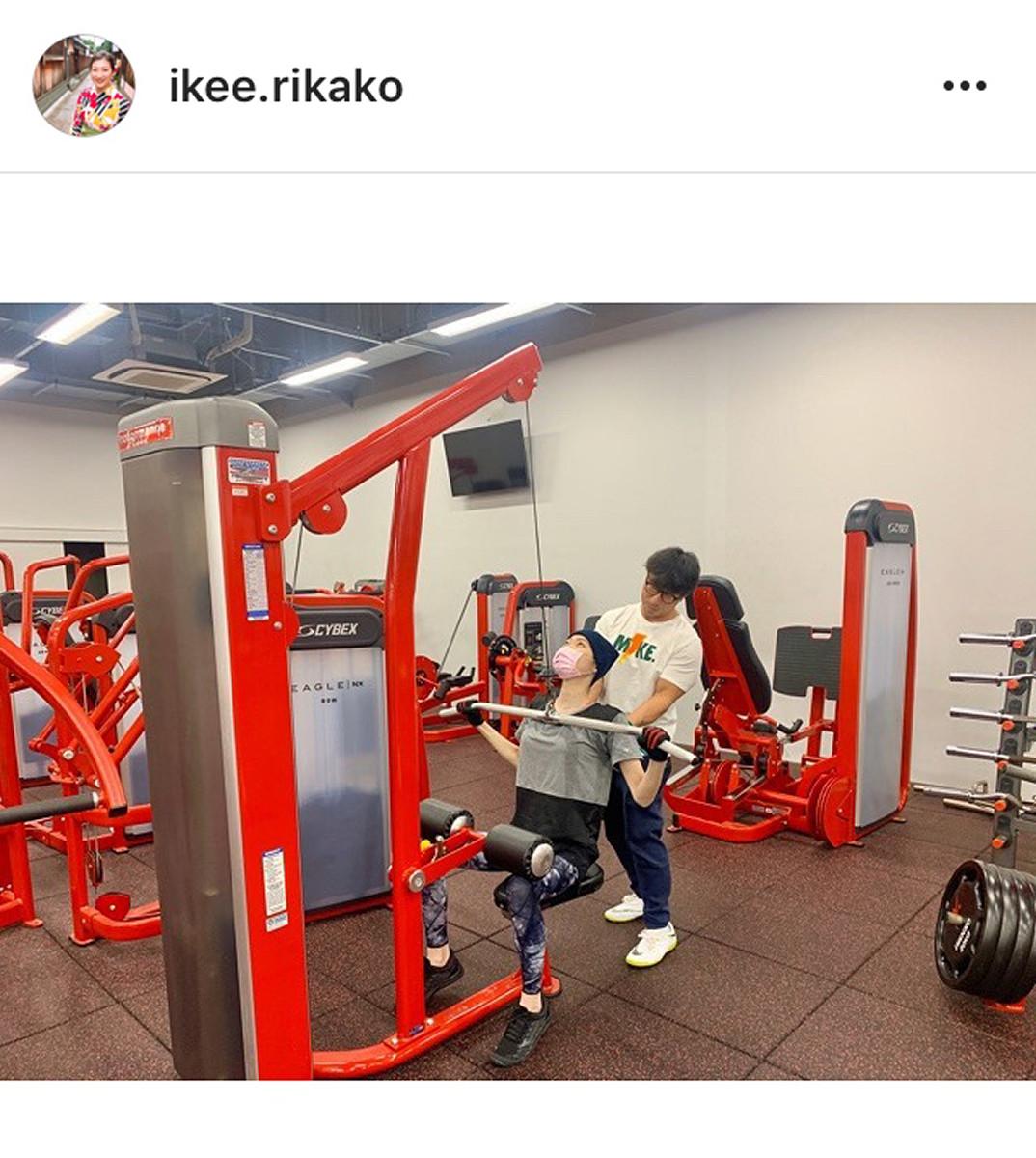 インスタグラムより@ikee.rikako