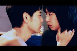 運命的な再会を果たした男女を演じる妻夫木聡と夏帆(C)2020「Red」製作委員会