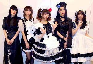 (左から)MISA、AKANE、小鳩ミク、SAIKI、KANAMI