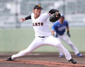 先発で3回無失点の巨人・桜井俊貴