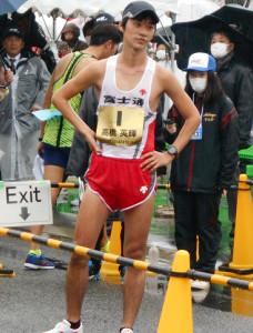 日本選手権6連覇と東京五輪の内定を逃した高橋英輝