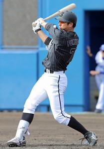 4回1死、移籍初安打を左前に放つFA新加入の福田秀平