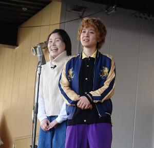 静岡でライブを行った尼神インター