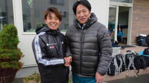 東京マラソンに参戦する神野大地(左)は青学大・原監督に猛ゲキを飛ばされ、意欲満々