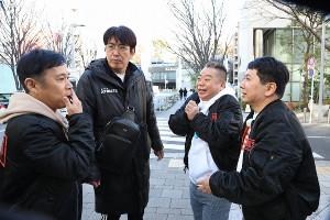 (左から)岡村隆史、石橋貴明、出川哲朗、田中裕二(C)フジテレビ