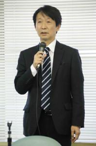 日本棋院・小林覚理事長