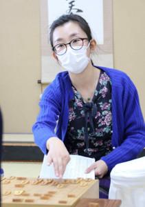 女流名人リーグ入りを決めた千葉涼子女流四段