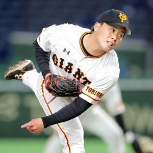 2番手で登板した藤岡貴裕(カメラ・清水 武)