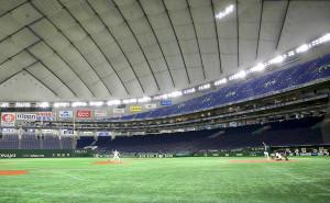 2月29日、無観客の東京Dで行われた巨人・ヤクルトのオープン戦