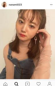 インスタグラムより@nanami023