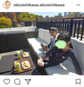 インスタグラムより@ebizoichikawa.ebizoichikawa